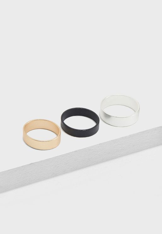 3 Pack Basic Rings