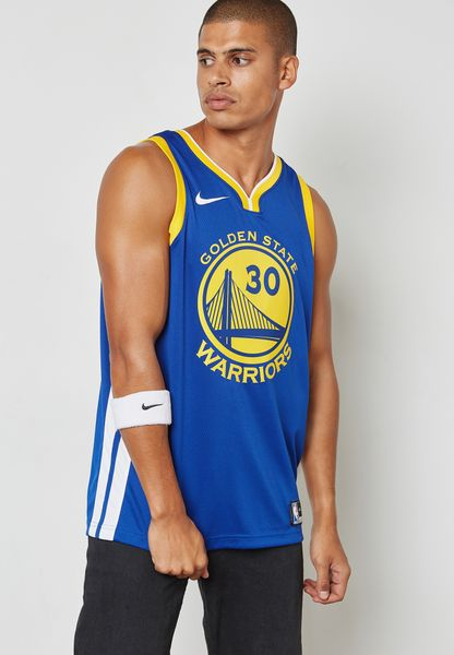 GS Warriors Curry Swingman Road Jersey