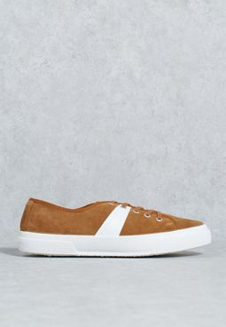 Suede Mixed Sneakers