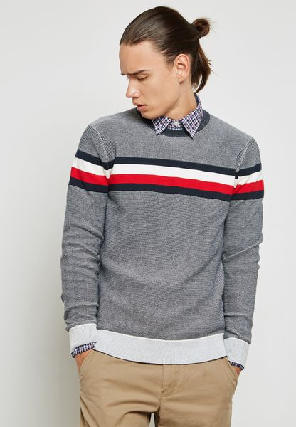 Oakes Striped Sweater