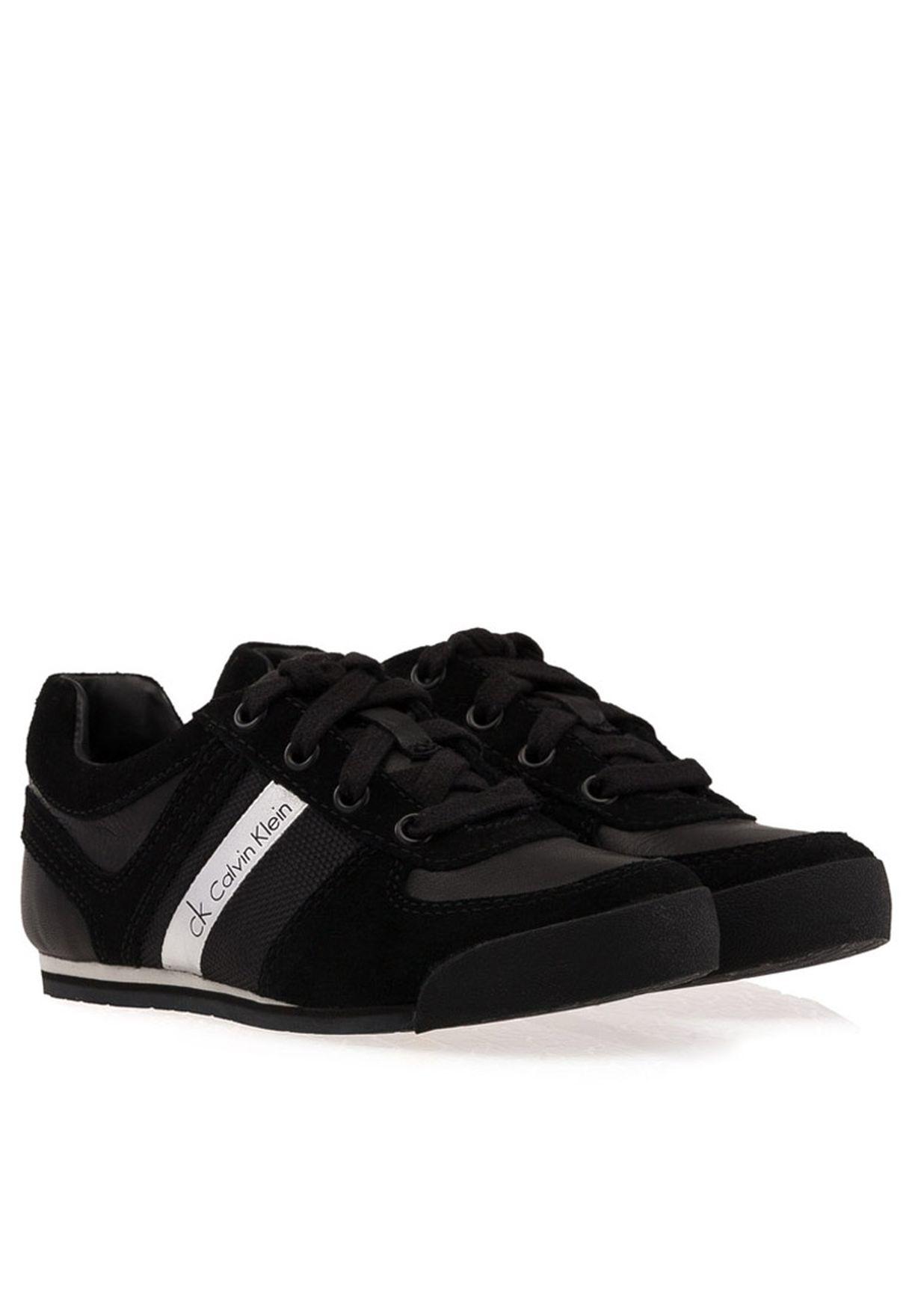 Calvin Klein Jeans black Chad Trainers
