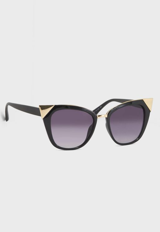 Metal Corner Sunglasses