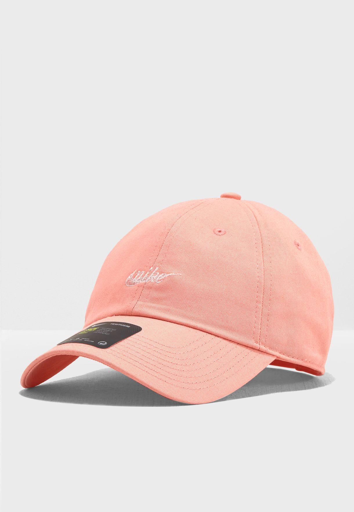 half off 86d36 3f99d Shop Nike pink H86 Script Cap AO8104-697 for Women in UAE - NI727AC14JQN