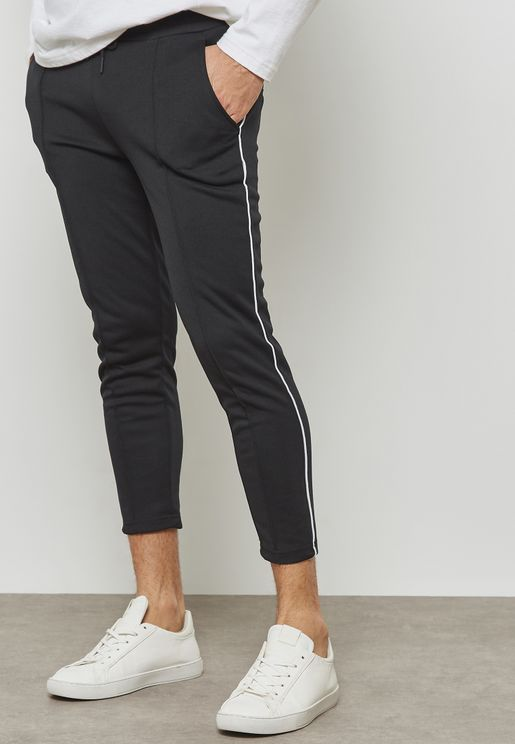 William Side Striped Track pants