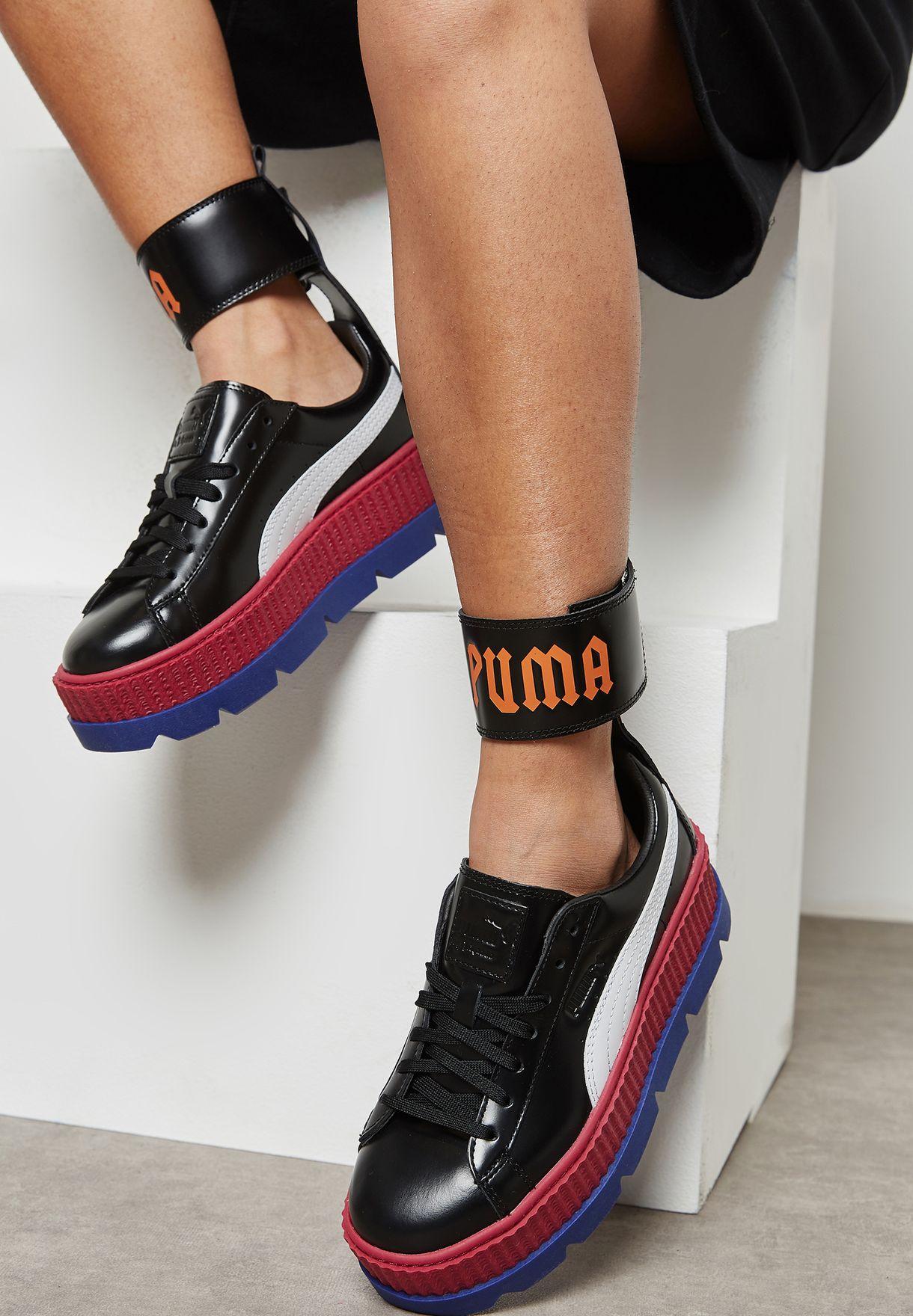 fenty ankle strap sneaker