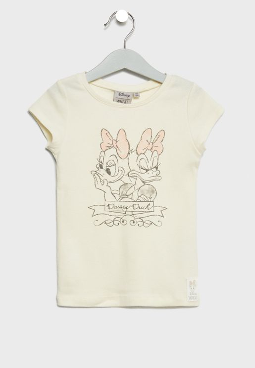Little Daisy Duck Moods T-Shirt