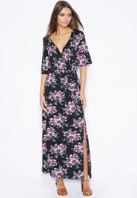 Ella Printed Kimono Dress