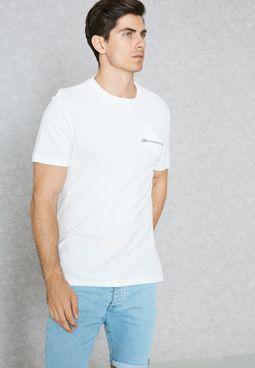 Smart Chest Zip T-Shirt