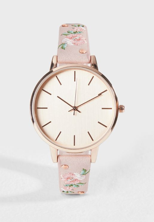 Pretty Strap Watch