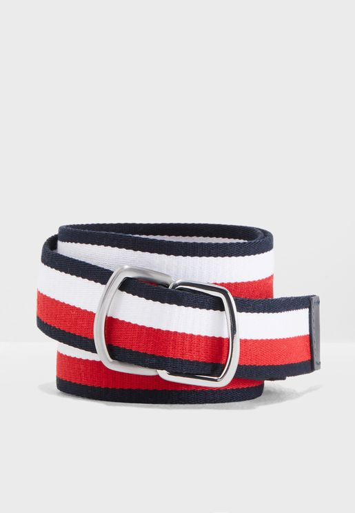 D-Ring Webbing Belt