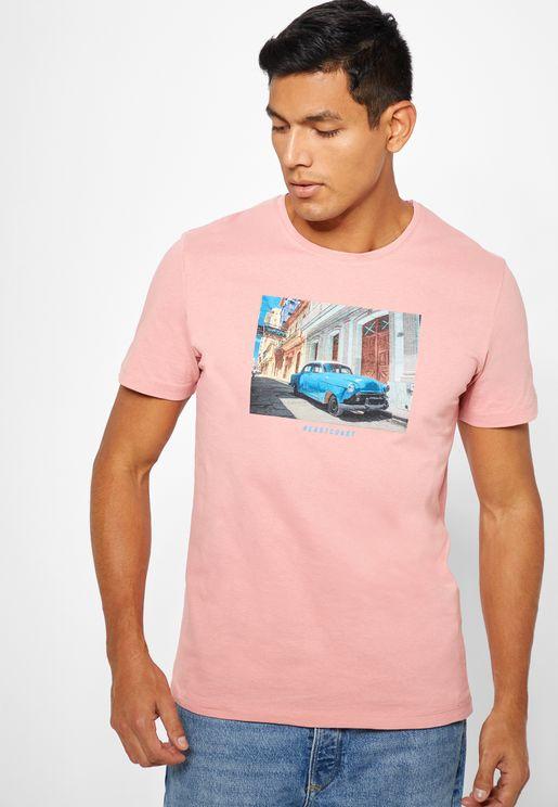 Landon Crew Neck T-Shirt