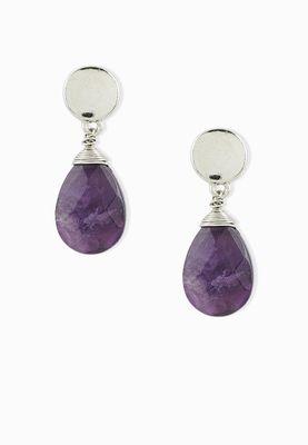 Leila Eve Stone Detail Earrings