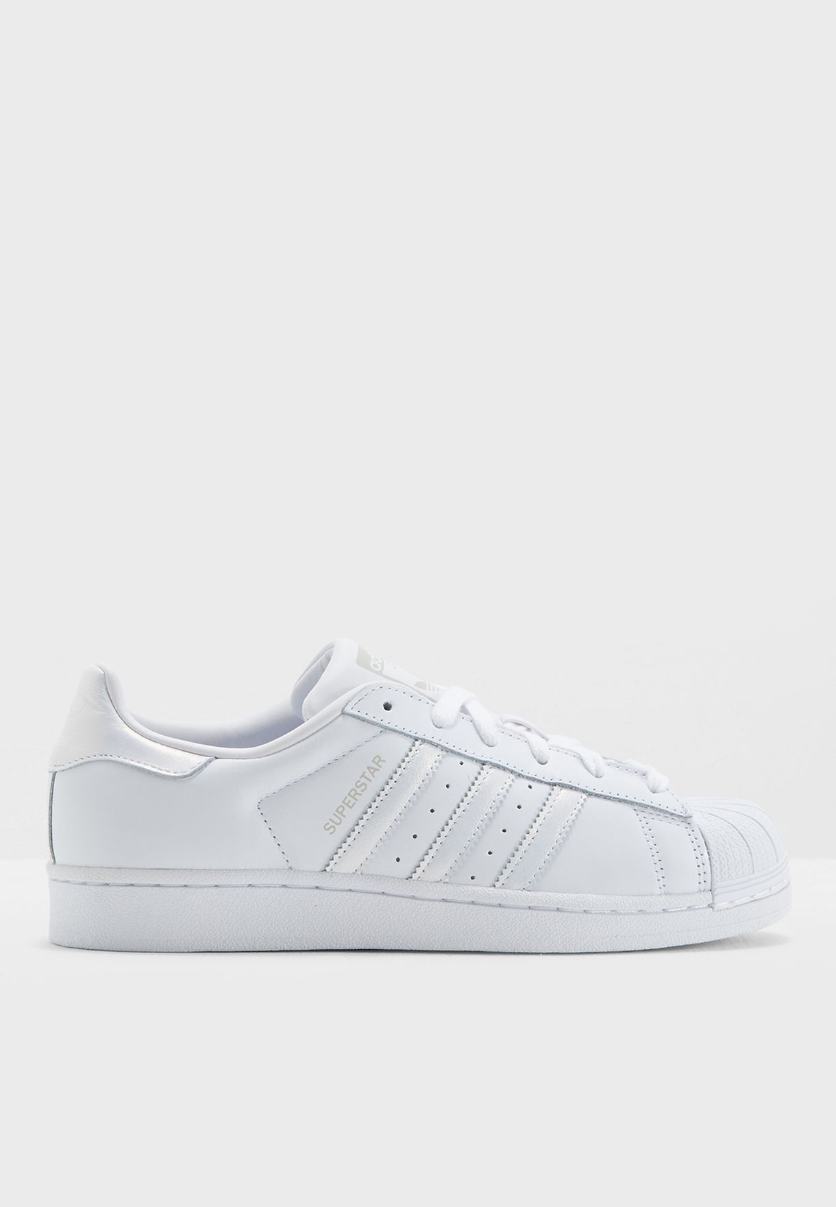 Women's Shoes Adidas Originals Superstar W White Grey Women Casual Shoes Sneakers Aq1214