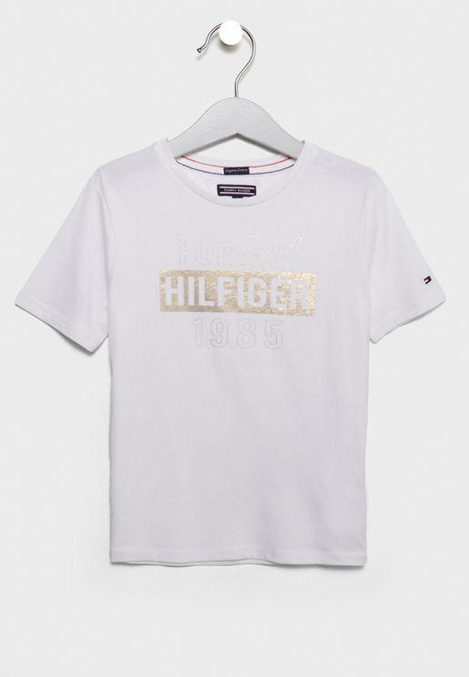 Little Foil Print T-Shirt