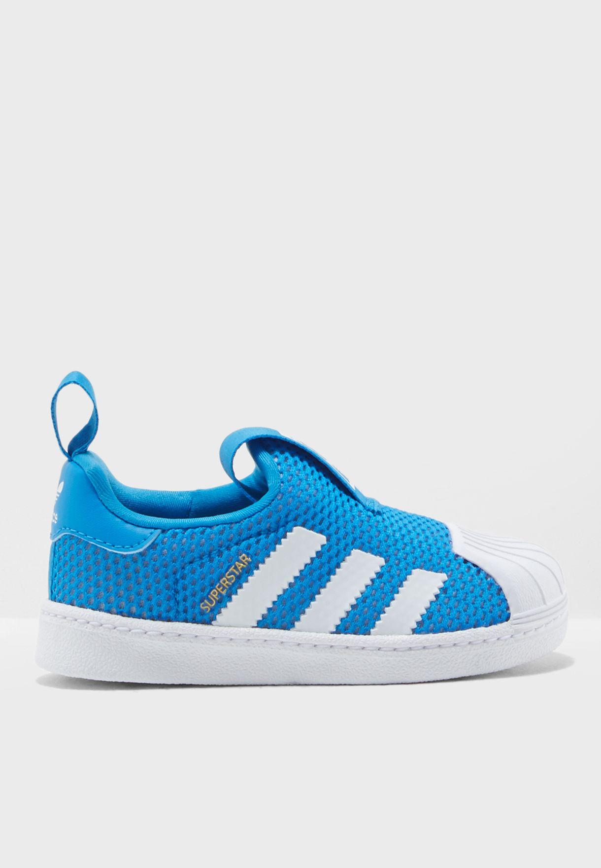Shop adidas Originals blue Infant Superstar 360 B37252 for Kids in ... 393677a53