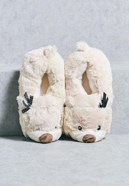 Teddy Bedroom Slippers