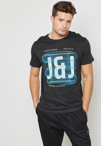 Spring-Feeling Printed T-Shirt