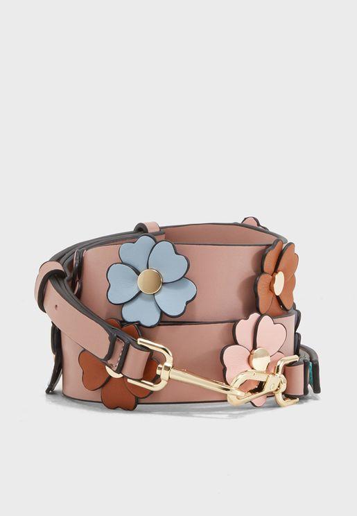 3D Flower Bag Strap
