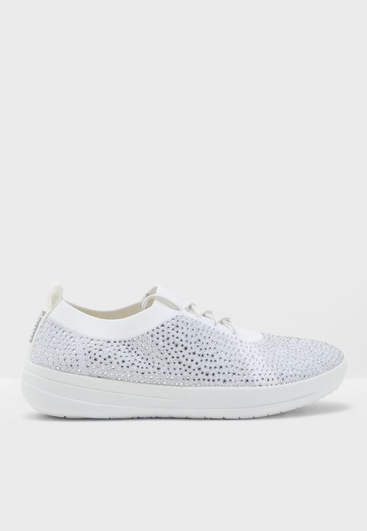 F-Sporty Uberknit Crystal Sneakers
