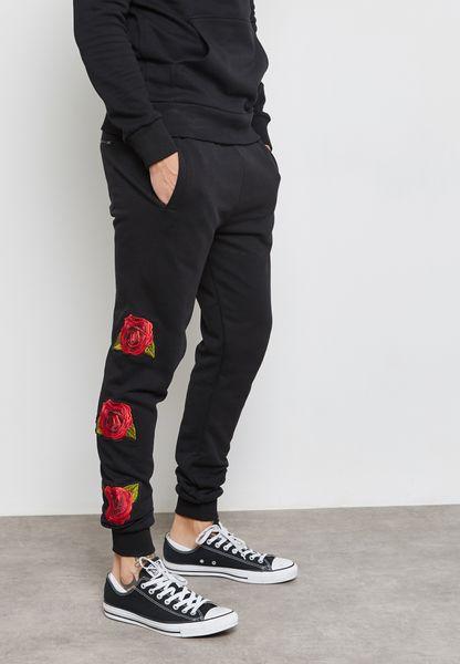 Rosa Printed Sweatpants