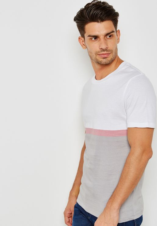 Michael Colourblock T-Shirt