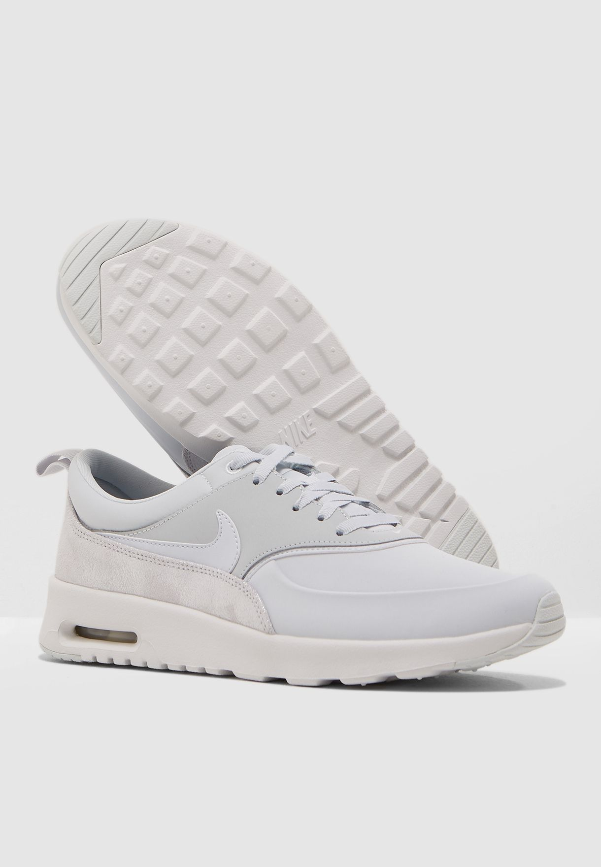 purchase cheap 11a5c 3ce9b Shop Nike grey Air Max Thea PRM 616723-026 for Women in Saudi ...