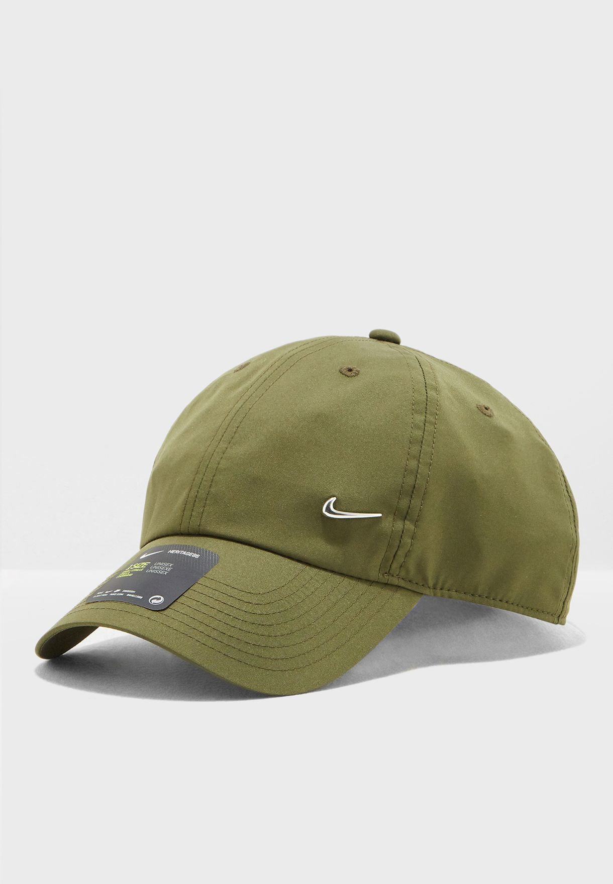 01d61ffcccc6 Shop Nike green H86 Metal Swoosh Cap 943092-395 for Men in UAE ...