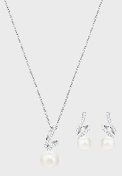 Gabriella Necklace + Earrings Set