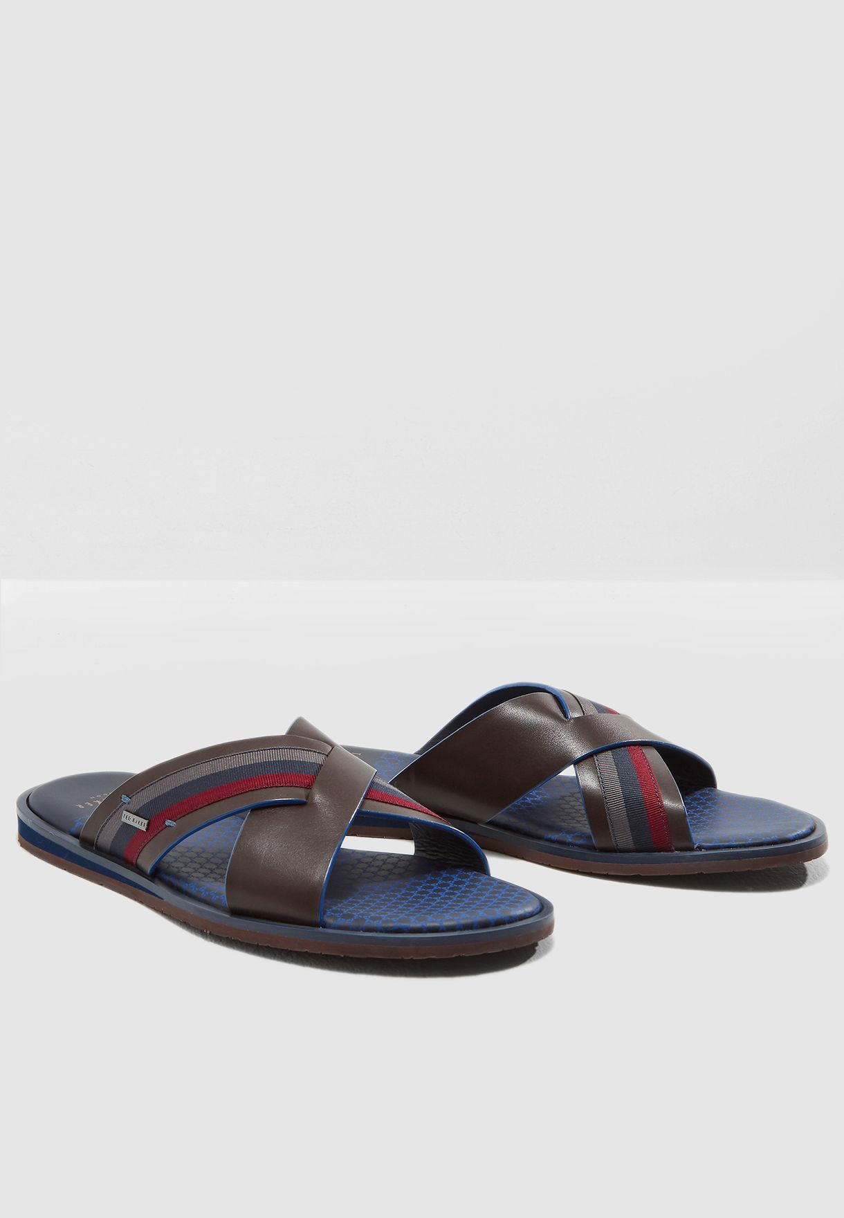 d48f739ad Shop Ted baker multicolor Farrull Sandals 917374 for Men in Kuwait -  TE456SH14DRP