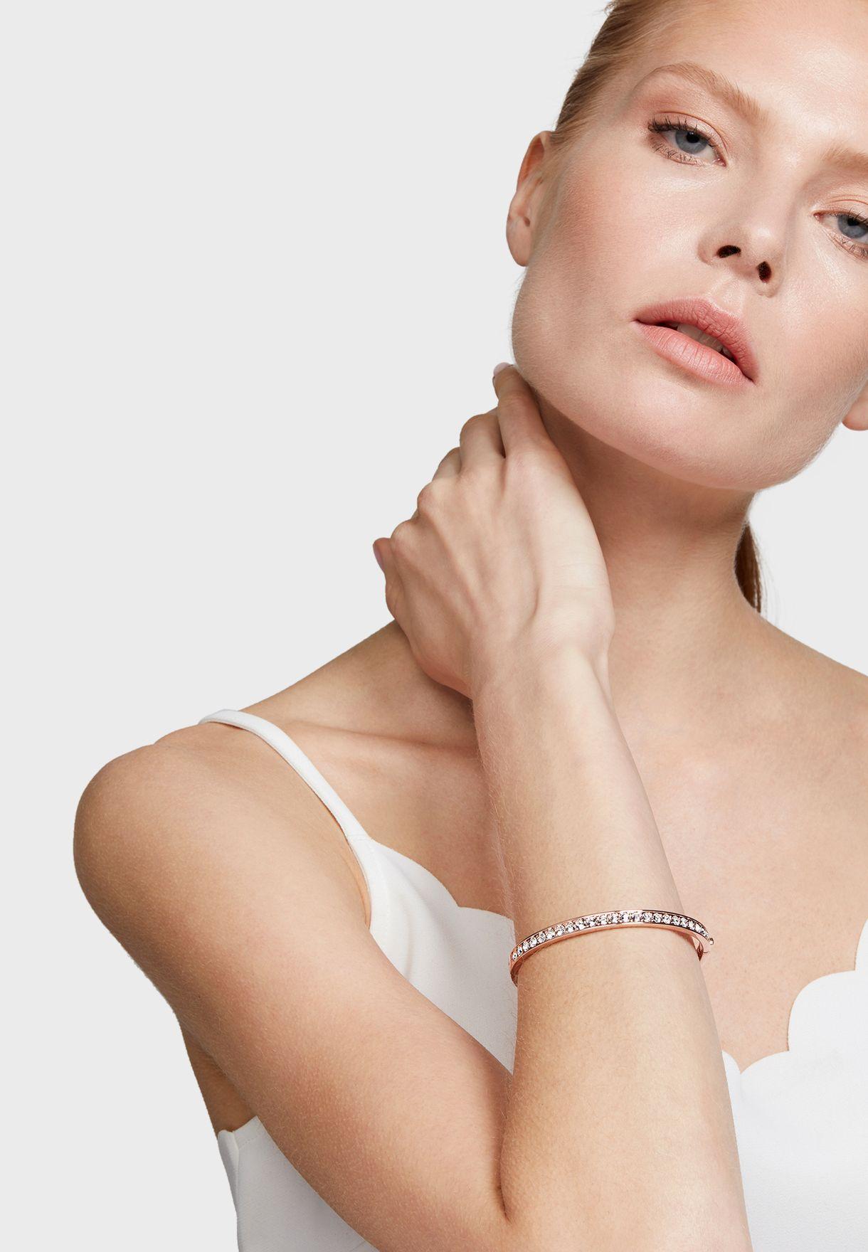 Clemara Hinge Crystal Bracelet