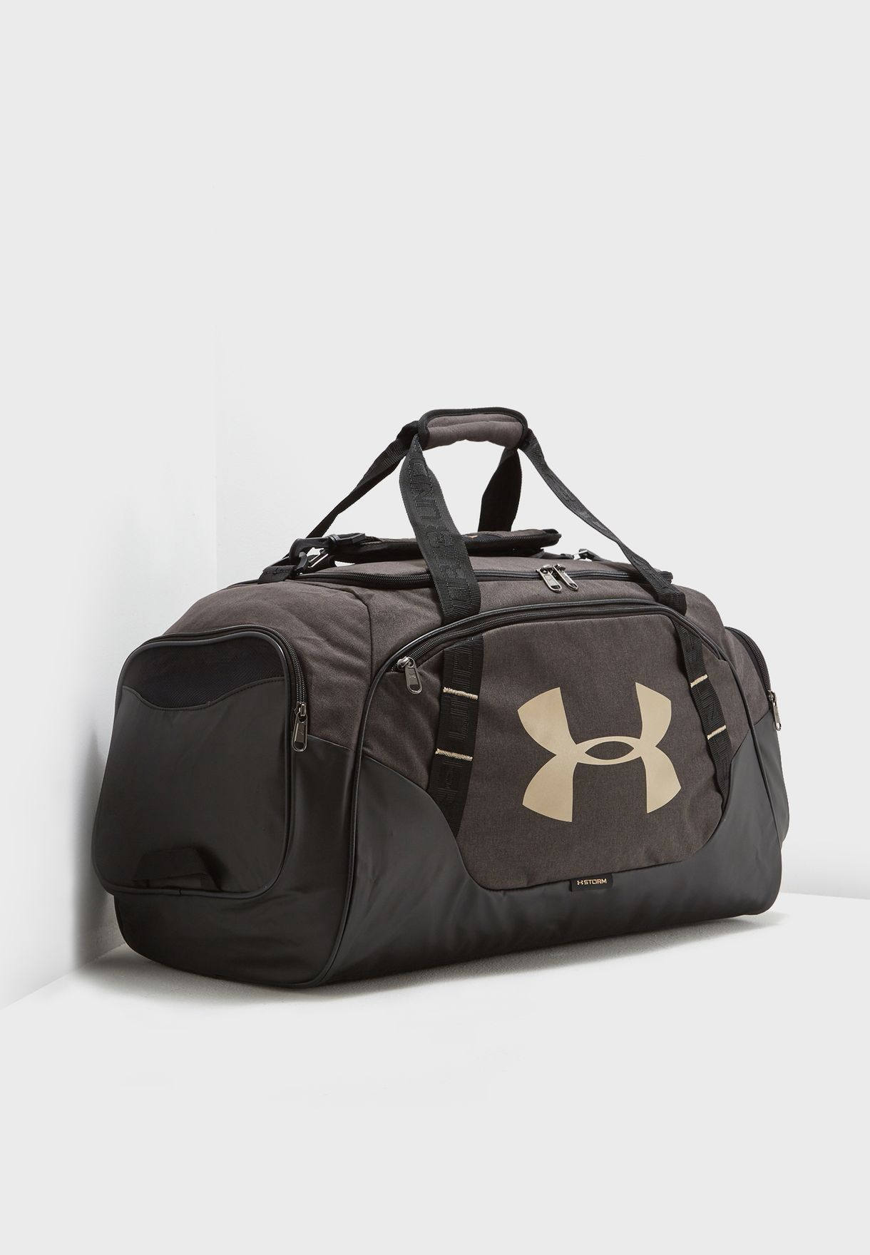Shop Under Armour black Medium 3.0 Undeniable Duffel 1300213-002 for ... 58693bbb21940
