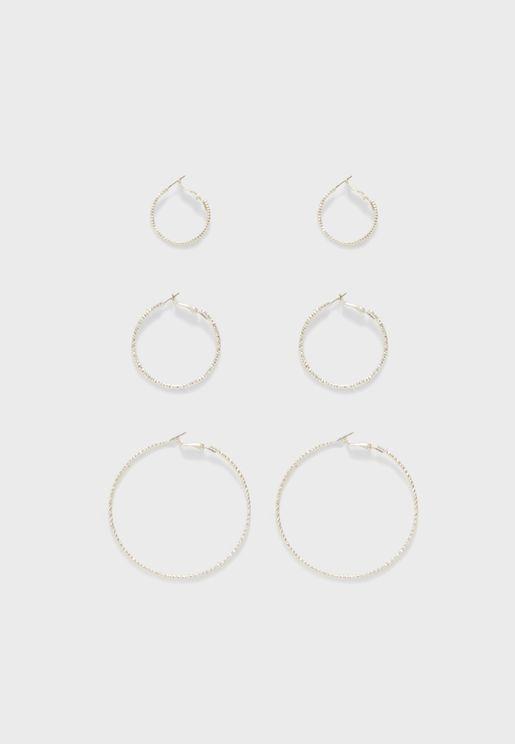 Multipack Helle Creol Earrings