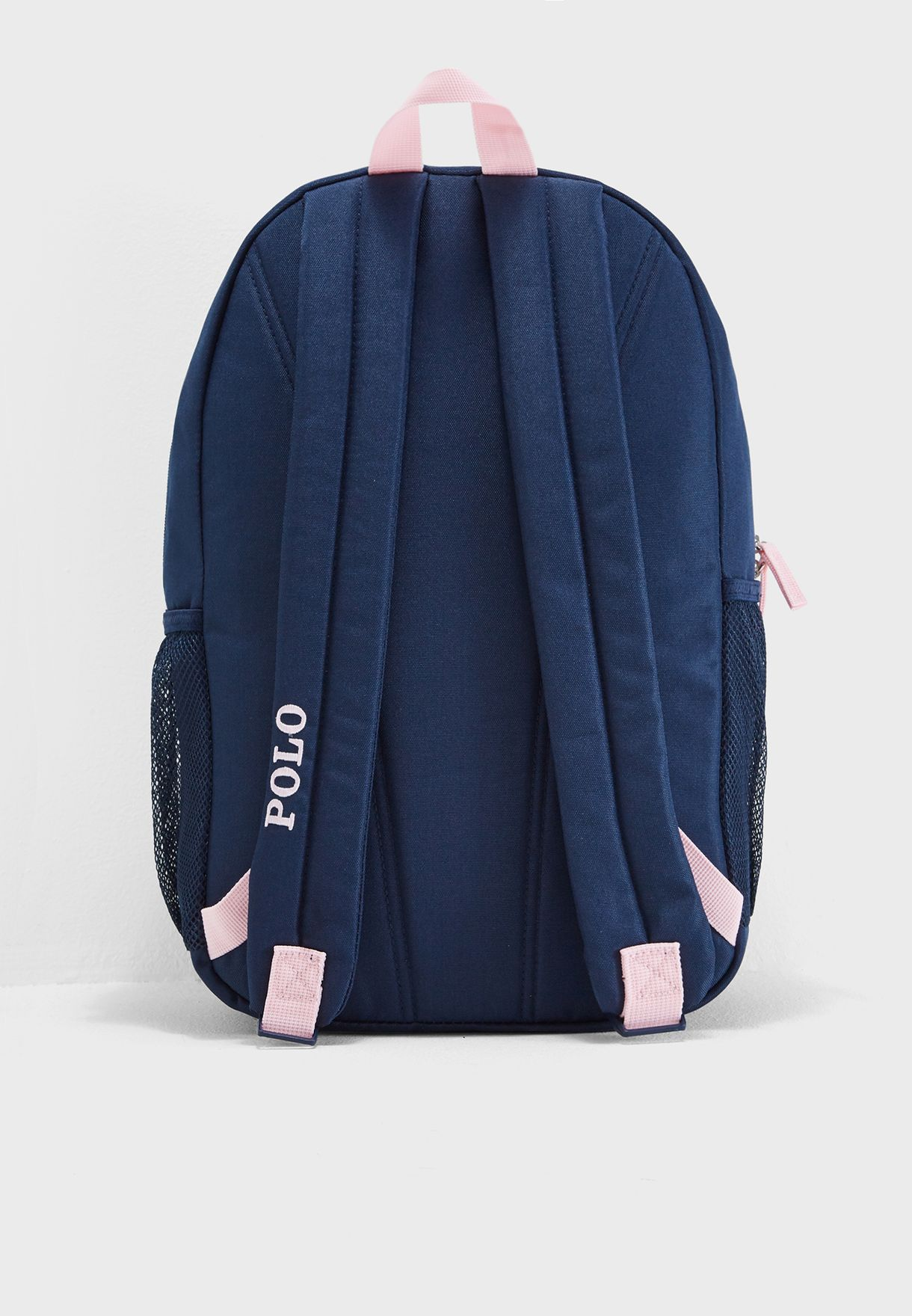 139feb0ce4ad Shop Polo Ralph Lauren navy Kids Large Academy Backpack ...