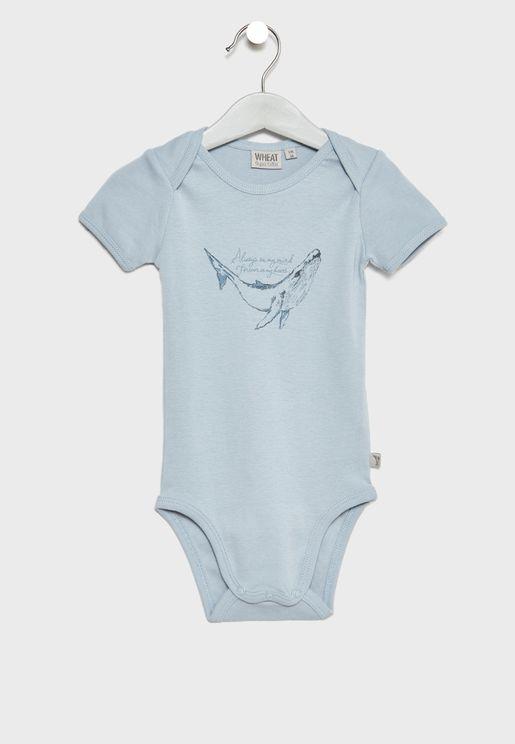 Infant Whale Bodysuit