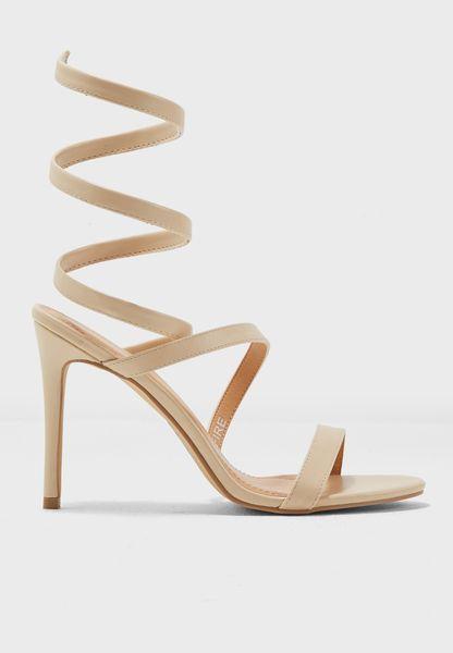 Fire High-Heel Sandals