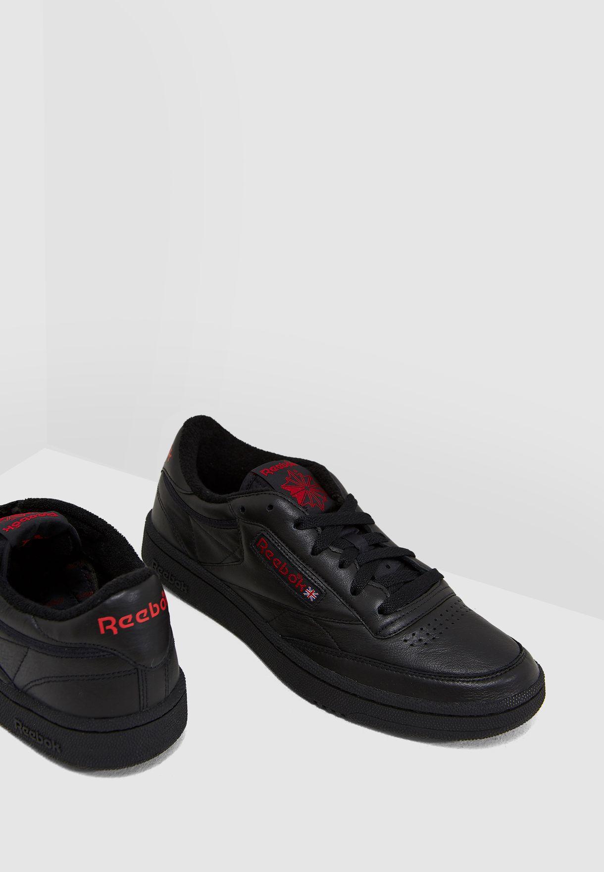 5a89bde02a3 Shop Reebok black Club C 85 Archive CN3712 for Men in UAE - RE019SH04NSP