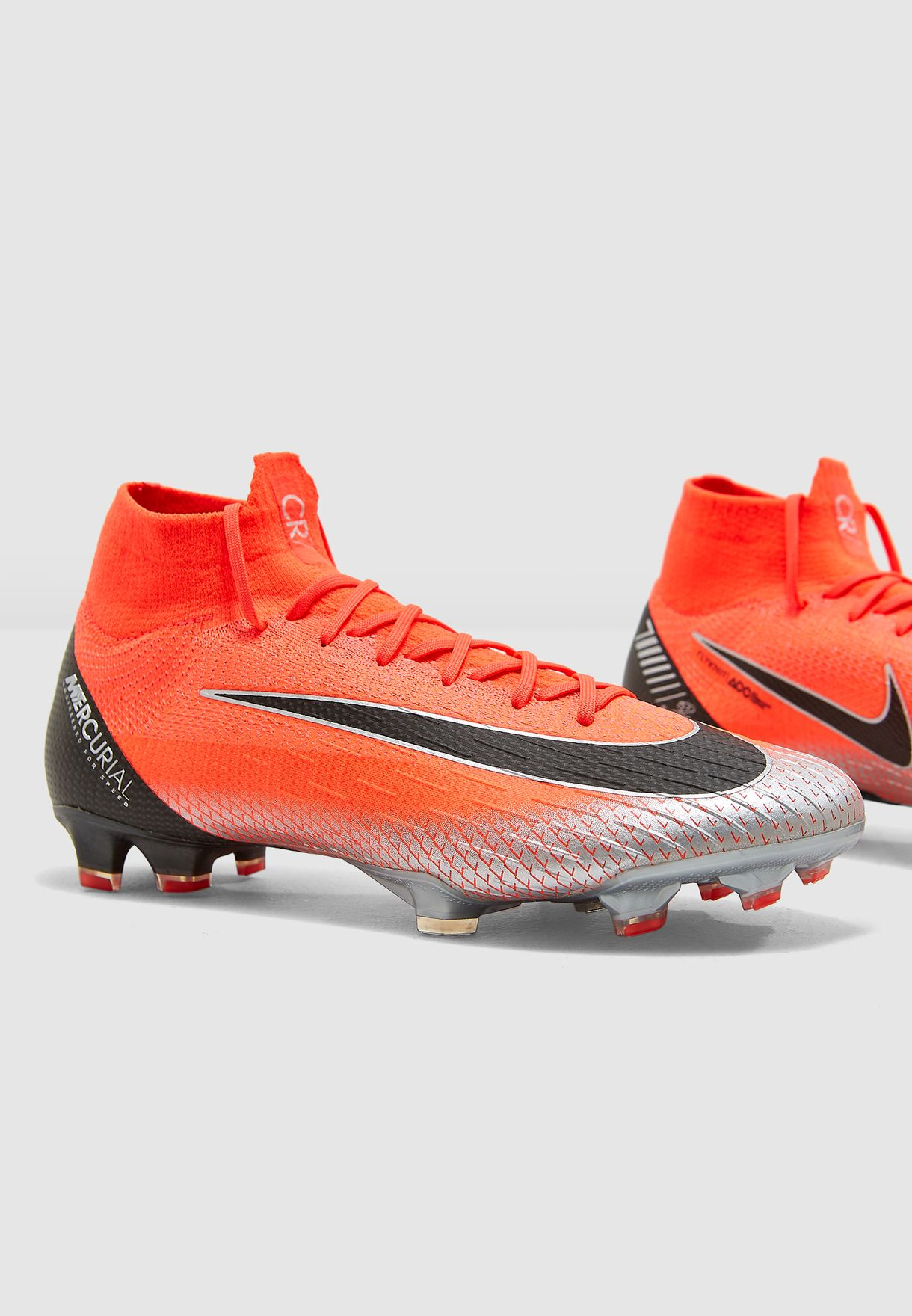 55f5b548c91 Shop Nike orange Superfly 6 Elite CR7 FG AJ3547-600 for Men in Qatar -  NI727SH04PFB