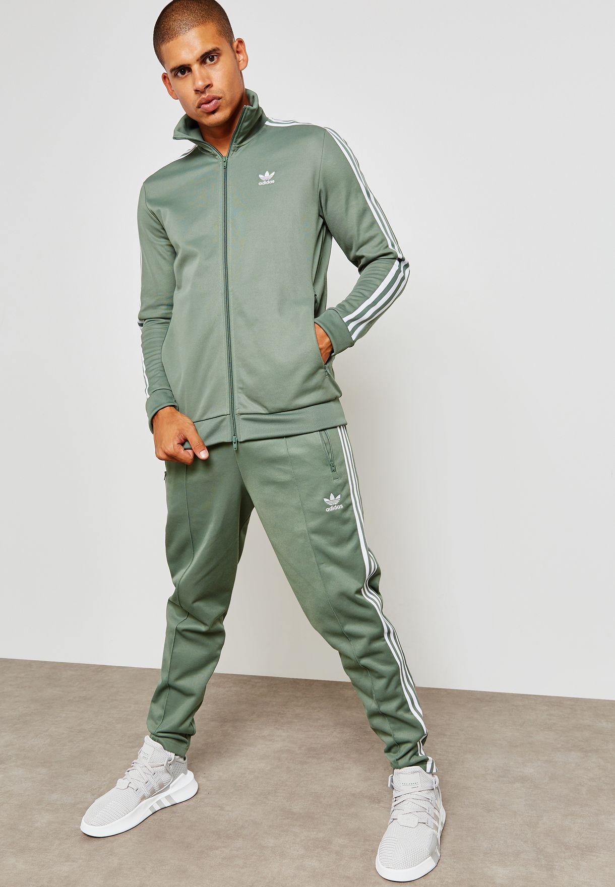 Sencillez el fin Viva  Buy adidas Originals green Adiclolor Beckenbauer Track Jacket for Men in  MENA, Worldwide | DH5820