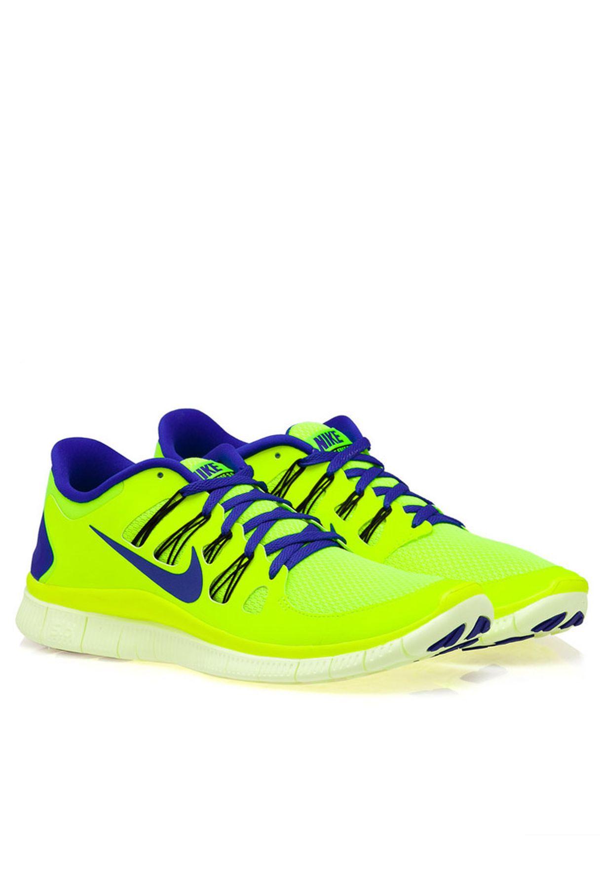 9032d51a0707 Shop Nike yellow Nike Free 5.0 579959-740 for Men in UAE - NI727SH04AOD