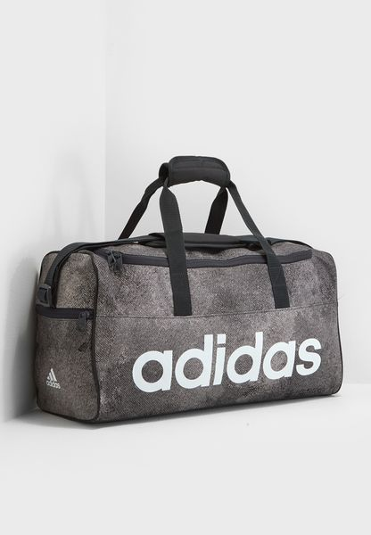 Small Linear Logo Duffel