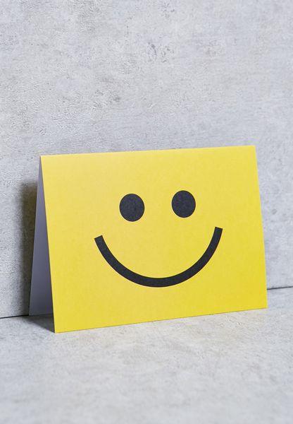 Smiley Card
