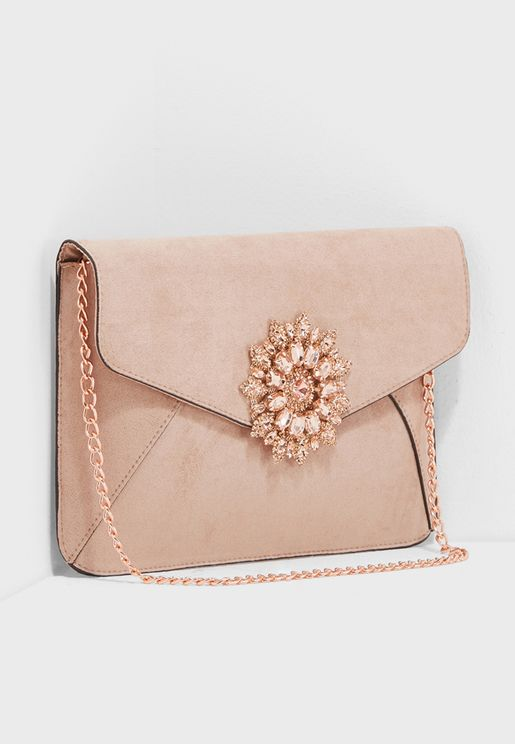 Ella Brooch Clutch