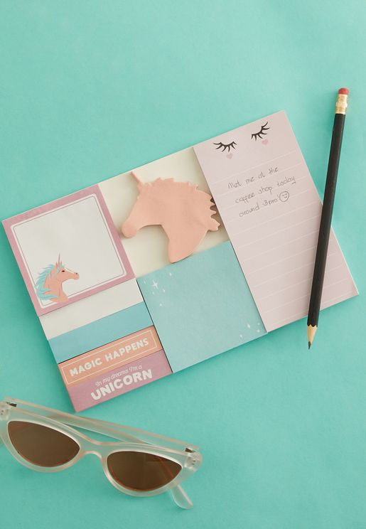 Unicorn Sticky Note Pack