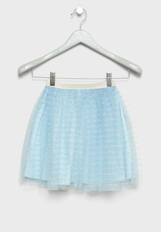 Little Mesh Skirt