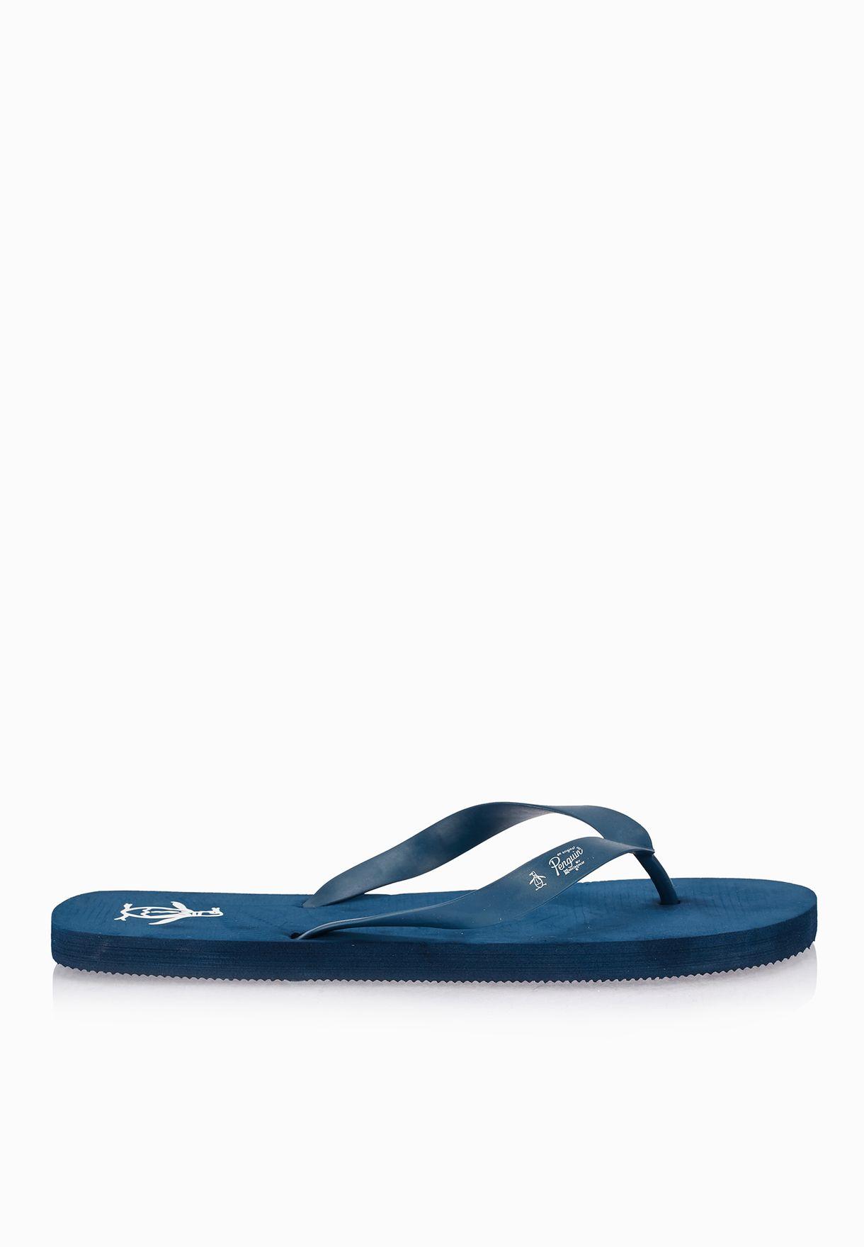 2886689dada Shop Original Penguin navy Pacific Flip Flops for Men in UAE ...