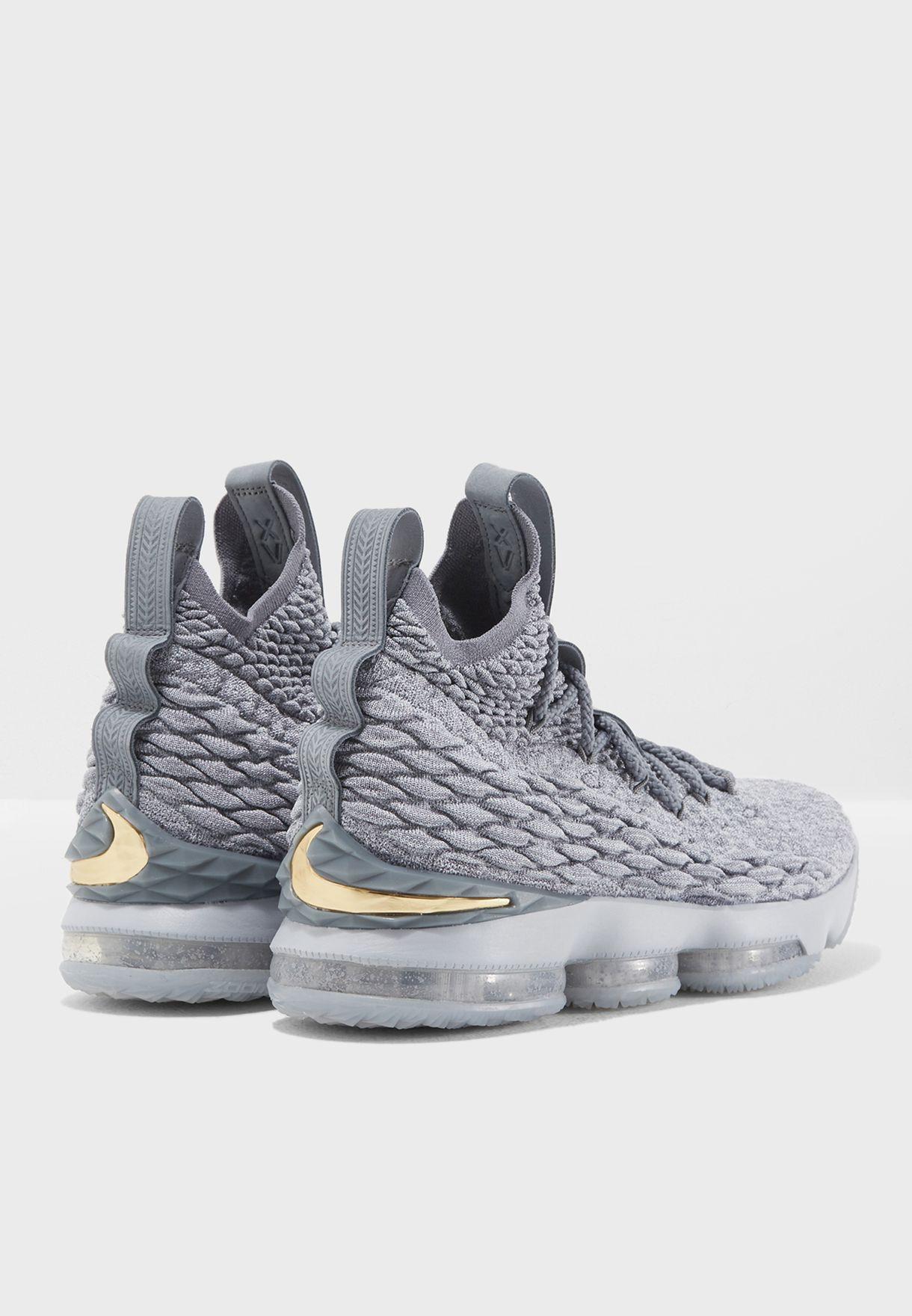 a45db37b2670 Shop Nike grey LeBron XV 897648-005 for Men in Kuwait - NI727SH04ZRJ