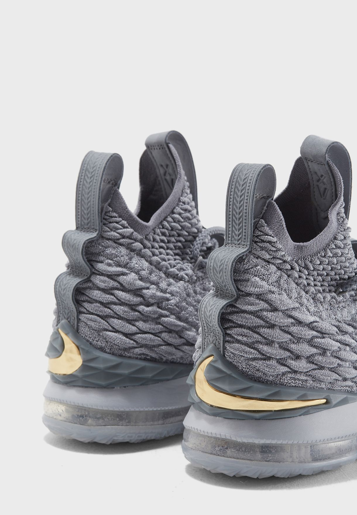 6f95e4261c1 Shop Nike grey LeBron XV 897648-005 for Men in Kuwait - NI727SH04ZRJ