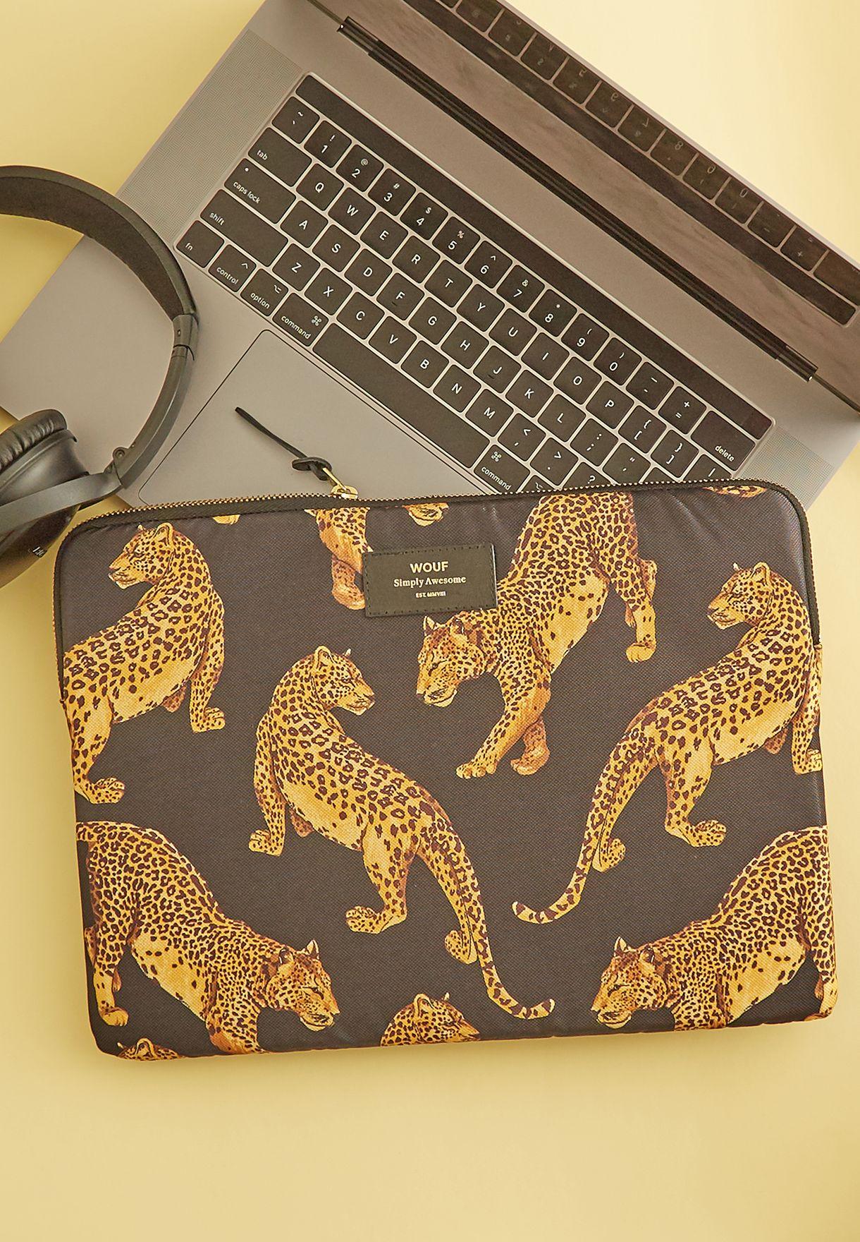 """13"""" Leopard  Laptop Bag"""