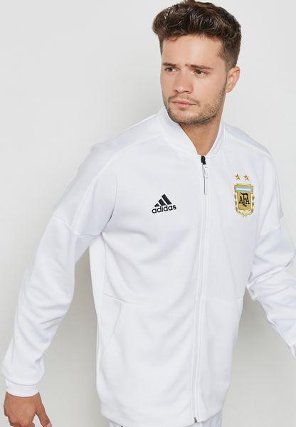 جاكيت زد ان اي بشعار الاتحاد الارجنتيني لكرة القدم