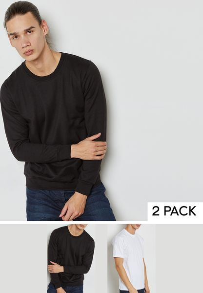 Essential T-Shirt + Sweater